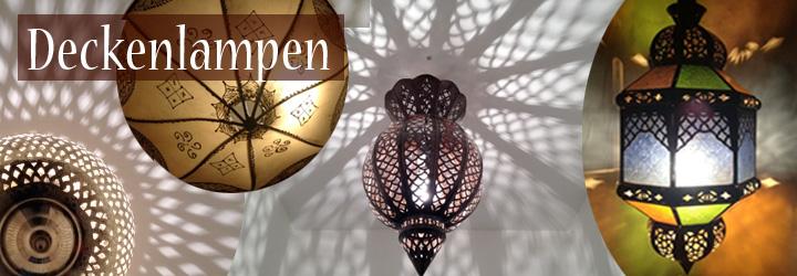 Saharashop orientalische deckenlampen for Orientalische wandlampen metall